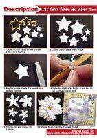 Des fleurs faites des étoiles SD003
